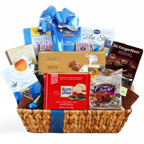 ارسال هدیه به آلمان - ارسال گل به آلمان-تبریک- ولنتاین- سبد شکلات- پکیج شکلات - آبنبات