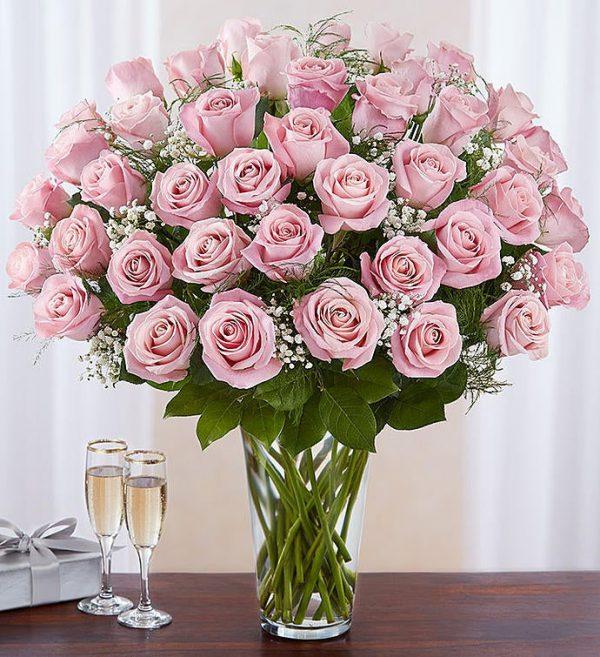 ارسال هدیه به آمریکا- ارسال گل به آمریکا-ولنتاین- ارسال کیک به آمریکا- تبریک تولد - ارسال شکلات به آمریکا- رز صورتی