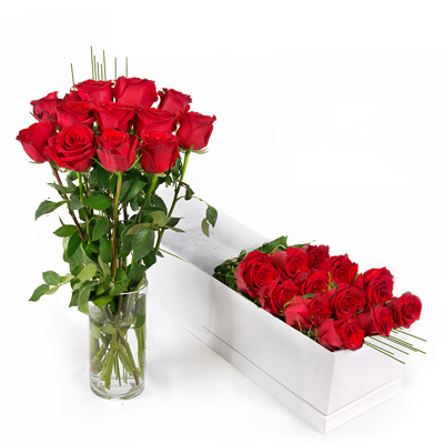 جعبه رز قرمز -ارسال هدیه به استرالیا