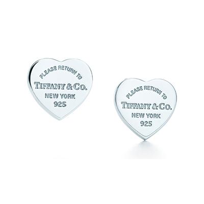 گوشواره قلب تیفانی Tiffany