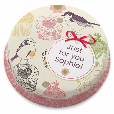 کیک پرنده های کوچک-ارسال هدیه به انگلیس