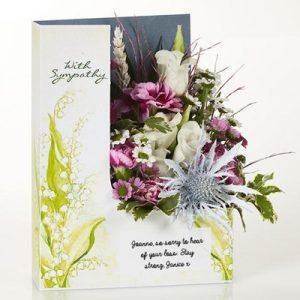 گل تسلیت-ارسال هدیه به انگلیس