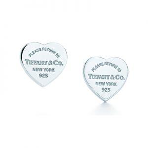 گوشواره قلب تیفانی Tiffany -ارسال به انگلیس