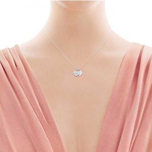 گردنبند دو آویز تیفانی Tiffany-ارسال هدیه به اتریش