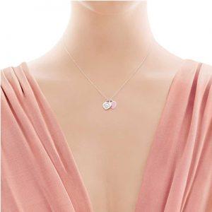 گردنبند دو آویز تیفانی Tiffany- ارسال به انگلیس