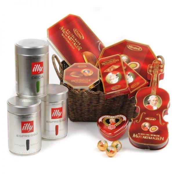 ارسال هدیه به اتریش - ارسال گل به اتریش-تبریک- ولنتاین- ارسال کیک به اتریش- تبریک تولد-قهوه ایلی-شکلات موتزارت