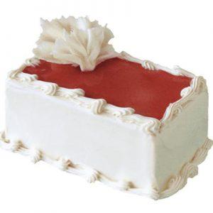کیک وانیلی توت فرنگی-ارسال به کانادا