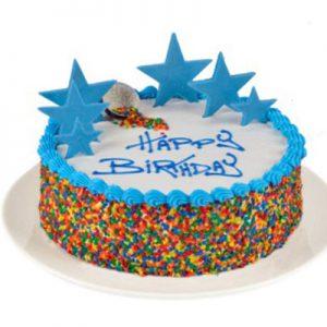 کیک تولد رنگی-ارسال هدیه به استرالیا