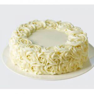 کیک رز سفید-ارسال هدیه به استرالیا