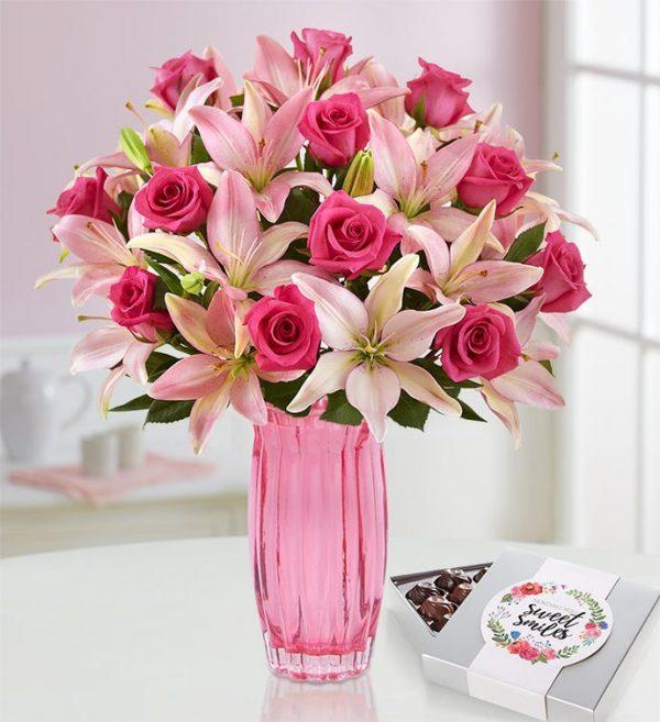 رسال گل به امریکا- گل رز - ارسال گل رز به آمریکا - ارسال هدیه به آمریکا
