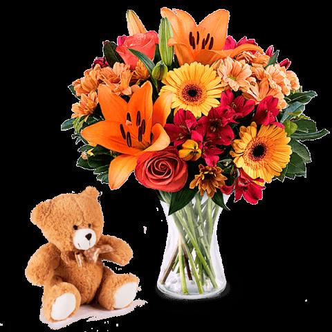 ارسال به اسپانیا - ارسال گل به اسپانیا-تبریک- تبریک ولنتاین-تبریک تولد- تبریک نوزاد - گل تبریک