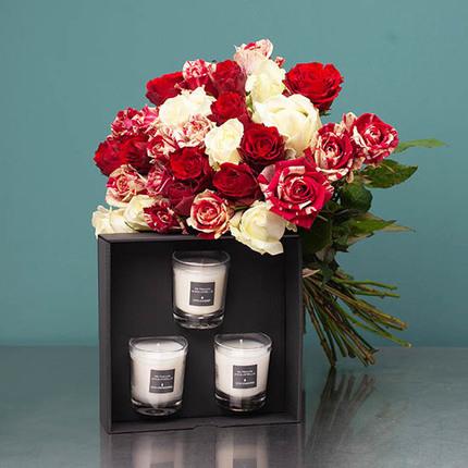هدیه ولنتاین - ارسال هدیه به آلمان - ارسال گل و شمع به آلمان- ارسال شکلات به آلمان